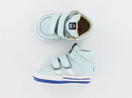 ShoesMe HIGH TOPS Leather (Light Blue) 19 only!
